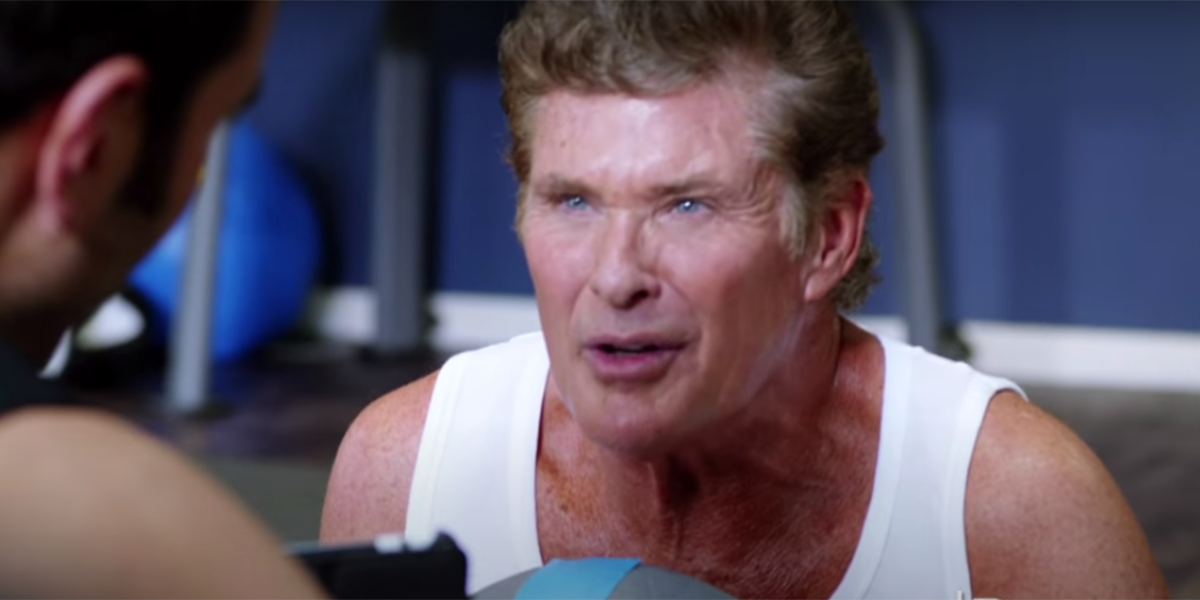 David Hasselhoff in Dave's Hoff the Record