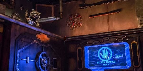 Rocket in Guardians of the Galaxy - Mission: Breakout