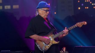 Ry Cooder performs in concert during the Austin City Limits 2017 Hall of Fame Inductions at ACL Live on October 25, 2017 in Austin, Texas