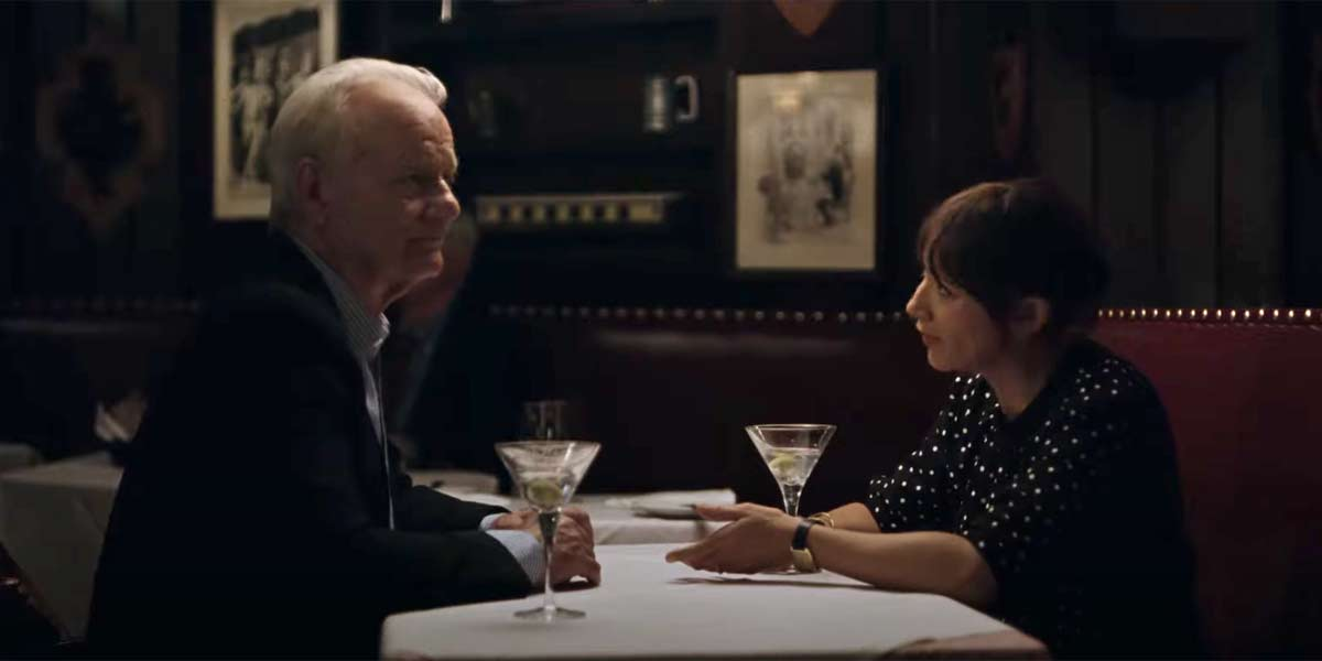 Bill Murray and Rashida Jones in On the Rocks trailer