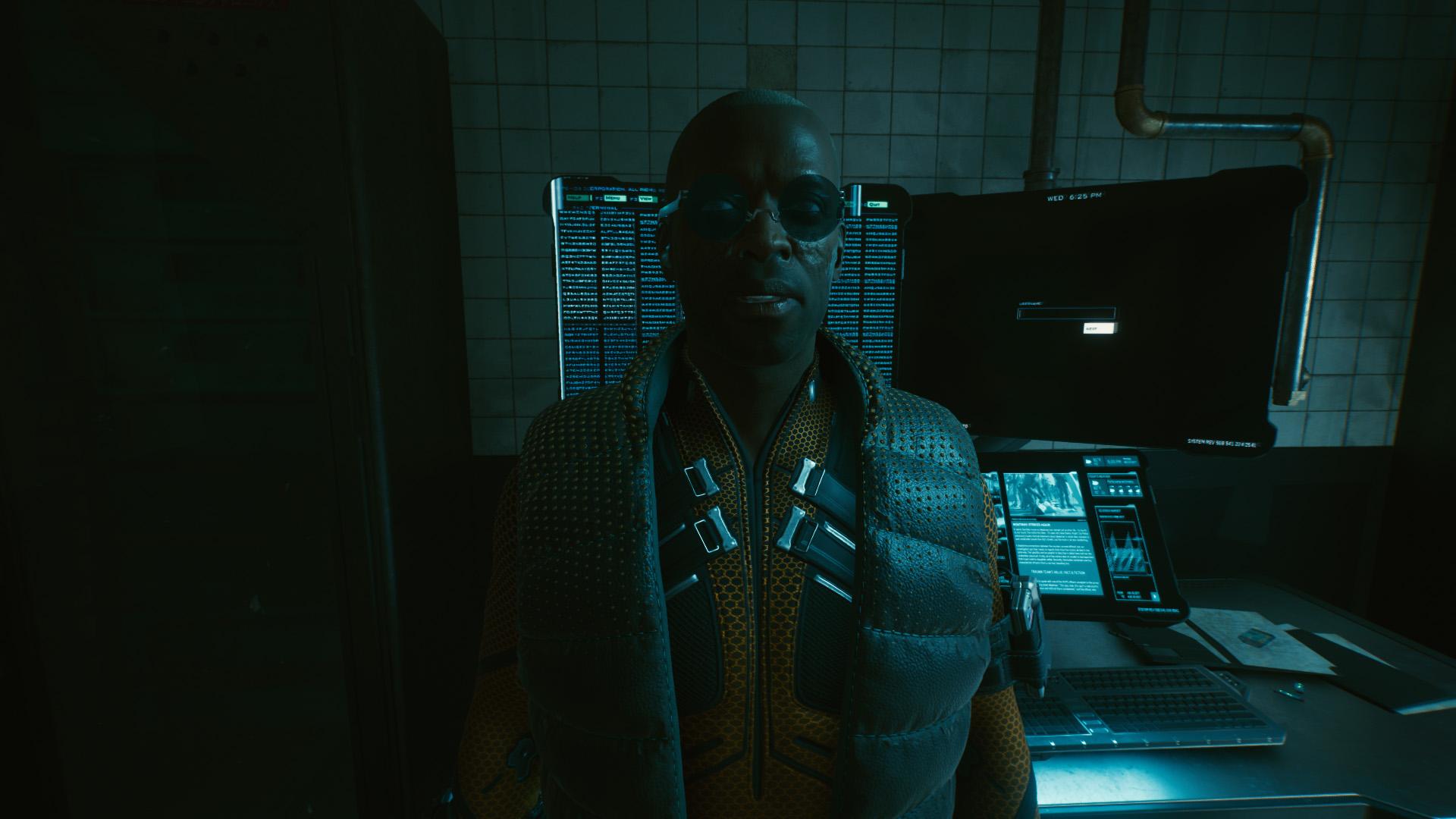 Cyberpunk 2077 Spellbound computer password