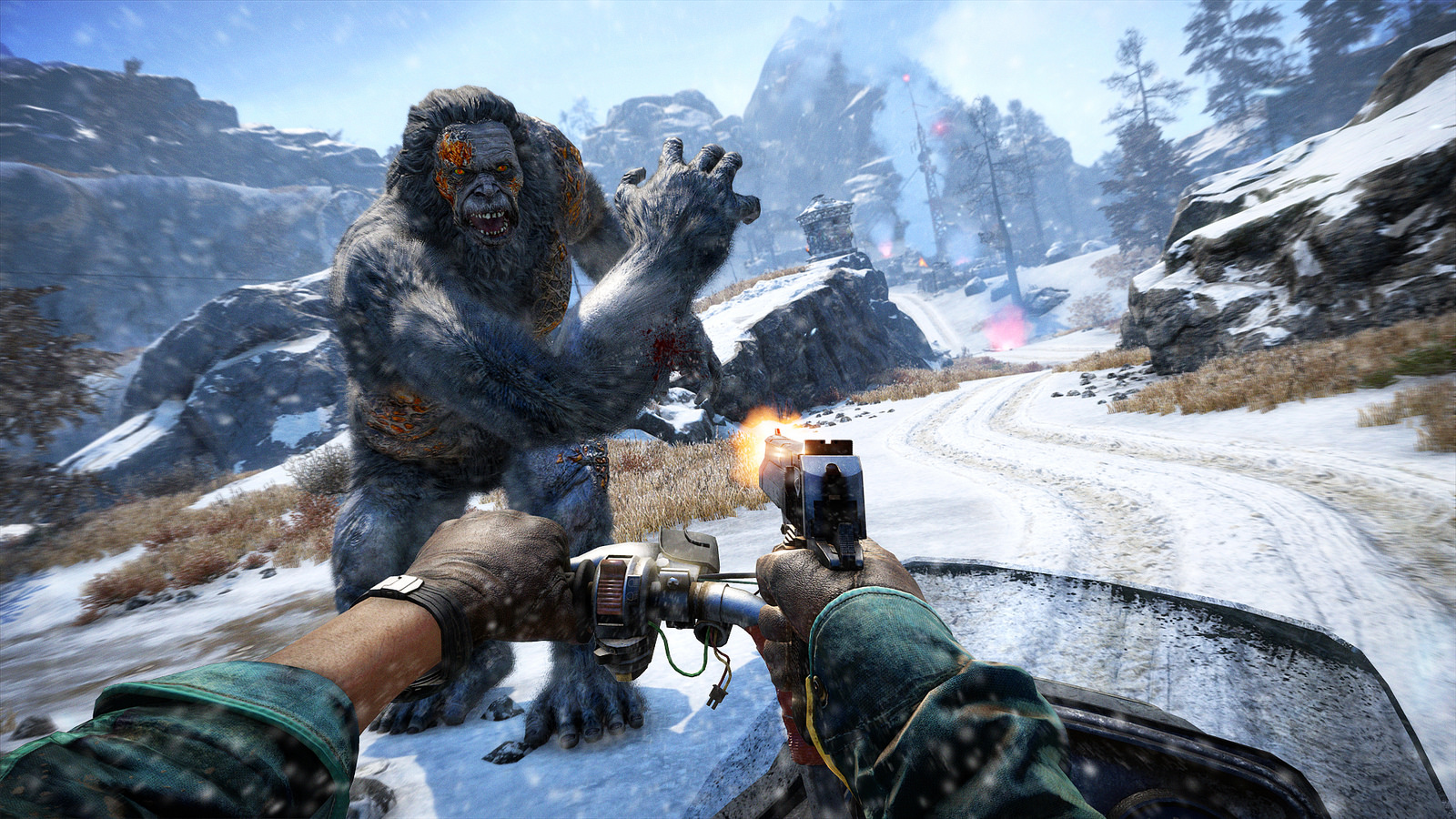Far Cry 4 Yeti DLC Trailer And Screenshots Reveal Your Next Big Challenge #32588