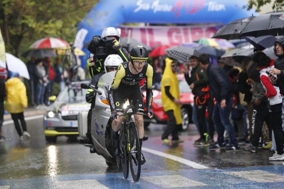 'When we reached the climb I didn't have anything': Simon Yates admits to 'stinker' in Giro d'Italia stage nine time trial