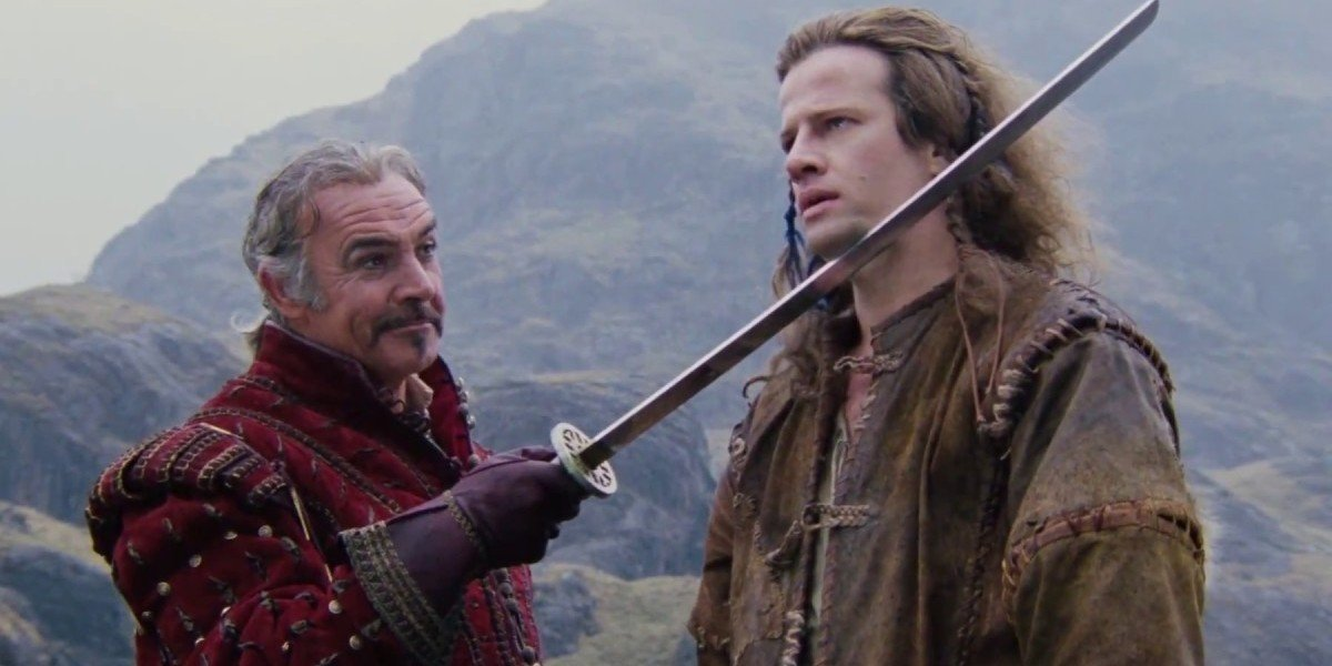 Highlander sean connery christopher lambert