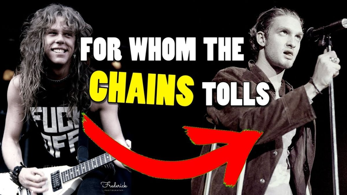 Metallica's For Whom The Bell Tolls in the style of Alice In Chains is a brilliant as you'd imagine