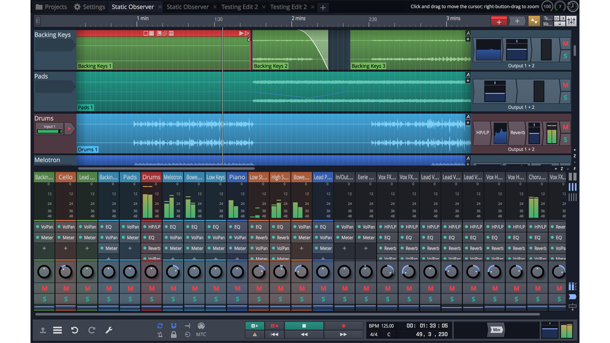 Tracktion's Waveform DAW helps you write songs and offers an