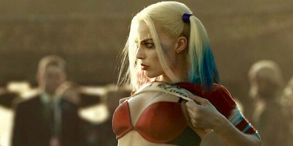 Harley getting dressed in Suicide Squad