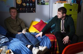 EastEnders Ben Mitchell and Bobby Beale