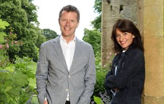 Nicky Campbell and Davina McCall in a Long Lost Family Special: Born Without Trace