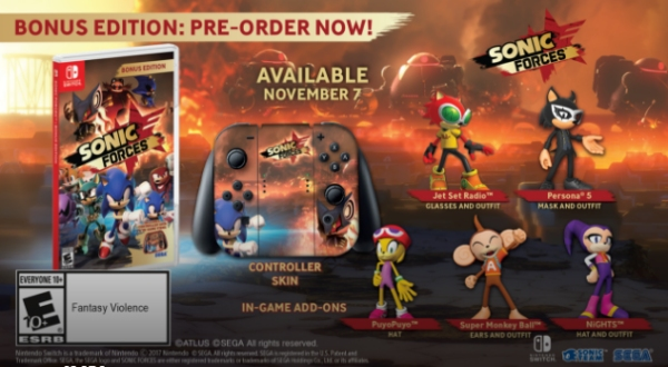 Sonic Forces Release Date
