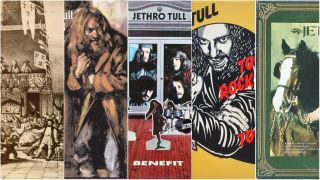 a collage of jethro tull album artwork