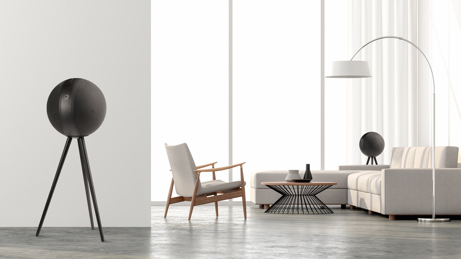 Elipson W35 brings wireless audio to Planet-shaped speakers