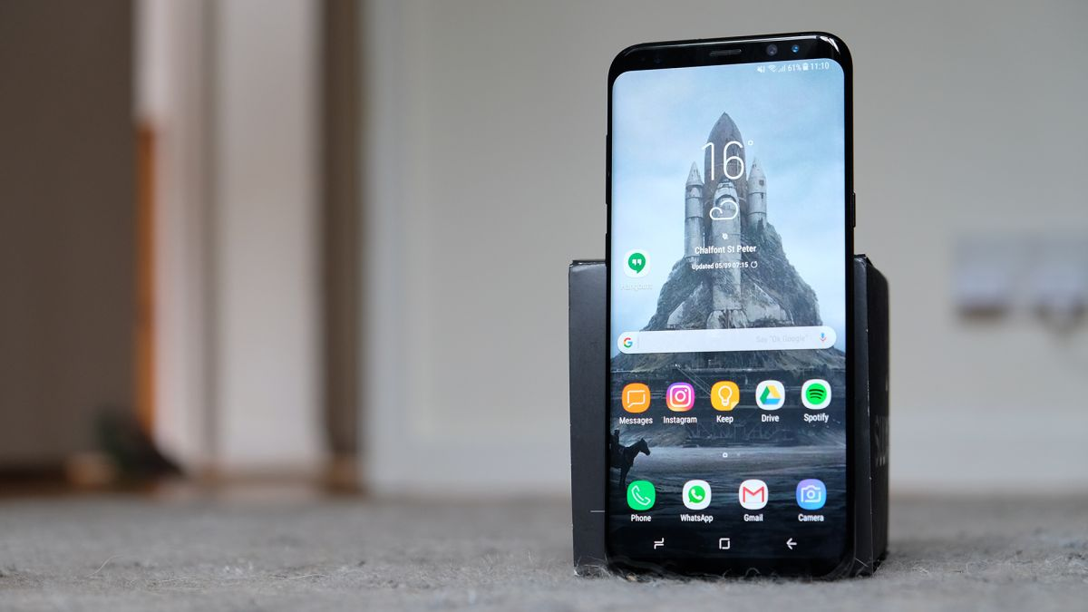 how to unlock galaxy s8 plus without password