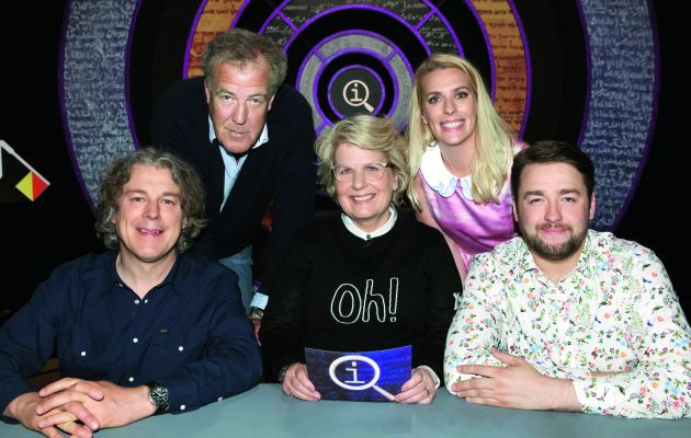 So how is Sandi Toksvig doing in her role as the new QI host?