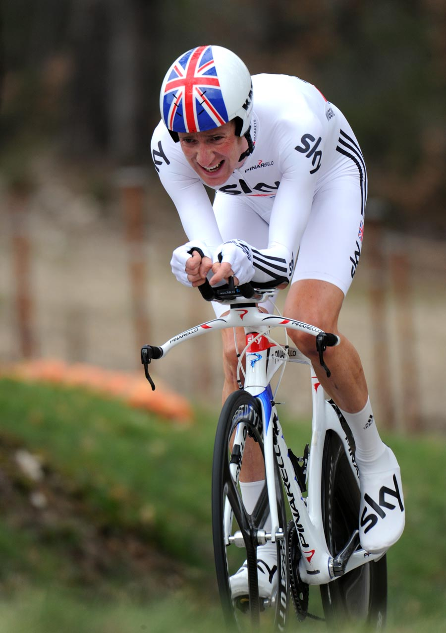 Bradley Wiggins, second, Paris-Nice 2011, stage six TT