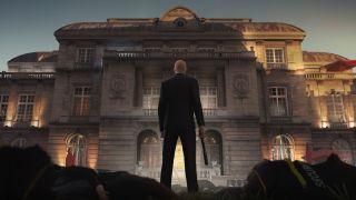 agent 47 visiting Paris