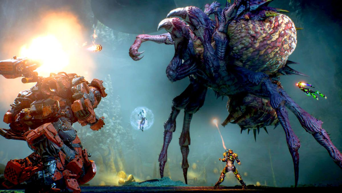 You can play Anthem in full today on PC for just £14.99 / $14.99