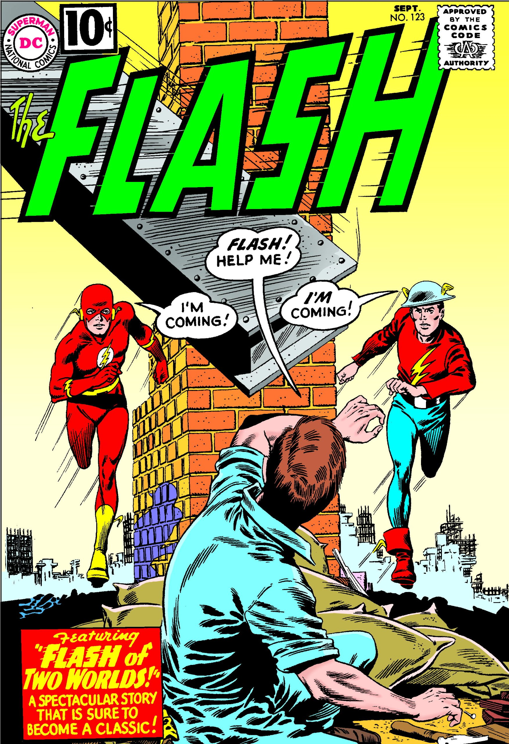 The Flash #123 in 1961