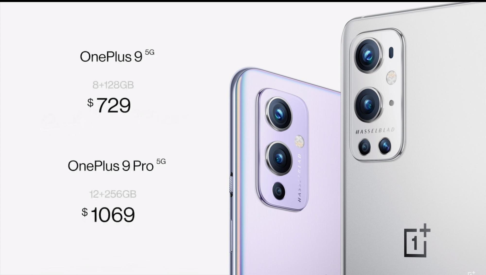 oneplus 9 pricing