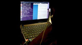 laptop, hacking