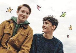 'Heartstopper' stars Kit Connor and Joe Locke as Nick and Charlie.