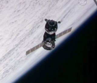 Soyuz Spacecraft Docks at Space Station With New Crew