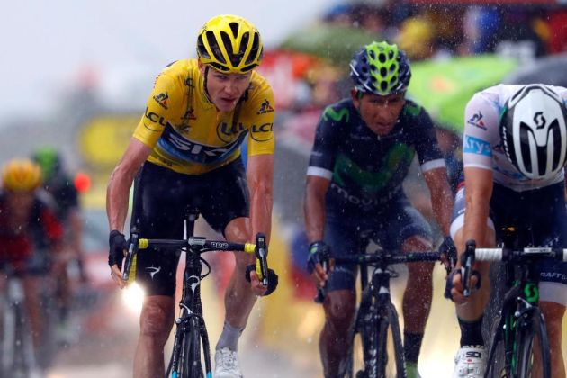Chris Froome retains Tour de France lead after stage nine mountain test f80c25a34