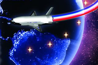 The U.S. Air Force's fourth X-37B space plane mission, the Orbital Test Vehicle 4 flight, will launch on a secret mission on May 20, 2015. An unmanned Atlas V rocket will launch the space plane from Cape Canaveral Air Force Station.