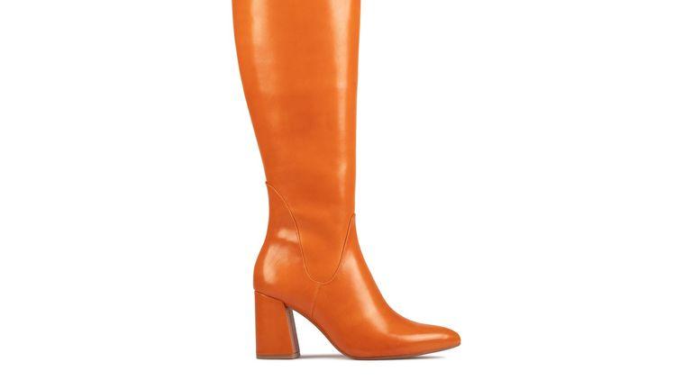 Clarks boots: Laina 85 Hi Burnt Orange boots