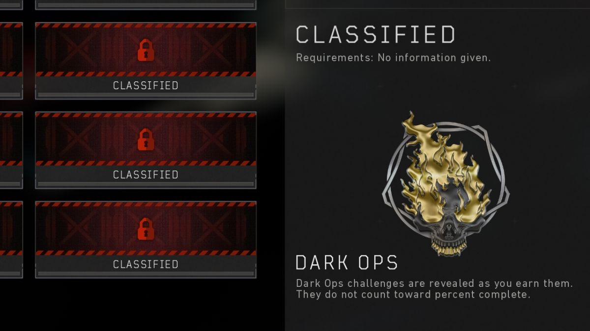 Black Ops 4 Dark Ops Challenges list: How to complete the