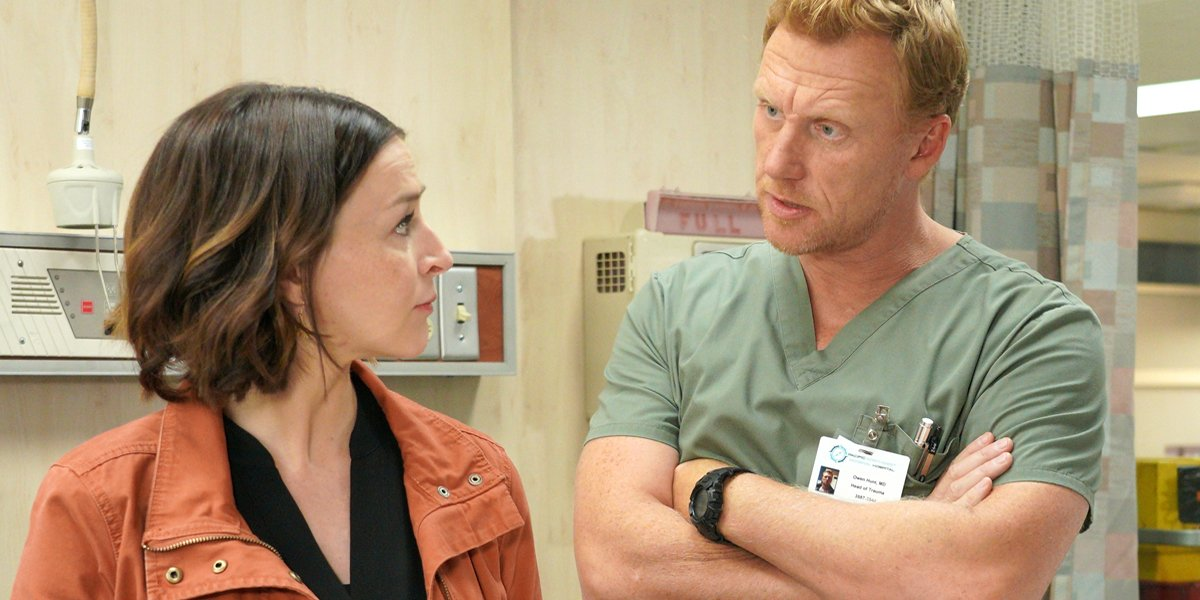 Grey's Anatomy Season 16 Amelia and Owen ABC