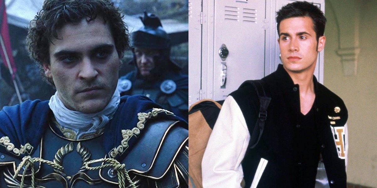 Joaquin Phoenix and Freddie Prinze Jr.