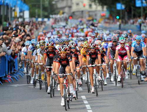Peloton, Vuelta a Espana 2009, stage 21