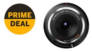 Bargain alert! Olympus 9mm fisheye body cap lens just £63 in Prime Day deal!