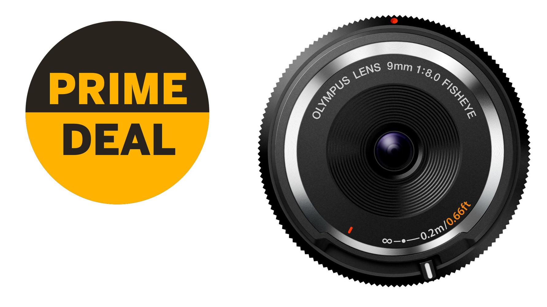 Bargain alert! Olympus 9mm Fisheye Body Cap Lens just £63 in Prime Day deal! | Digital Camera World