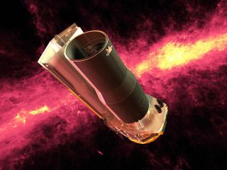 An image of NASA's spitzer