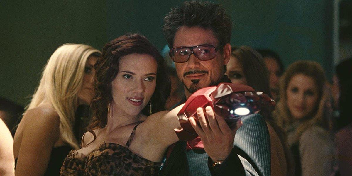 Scarlet Johansson in Iron Man 2