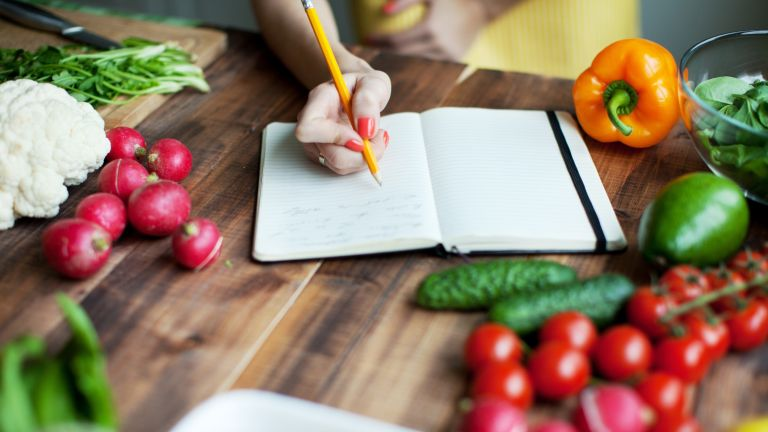 Food journal for weight loss