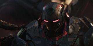 War Machine in his Iron Patriot suit