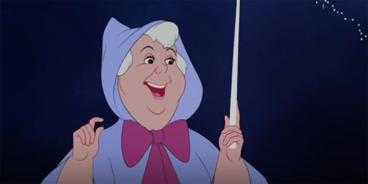 The Fairy Godmother in Cinderella