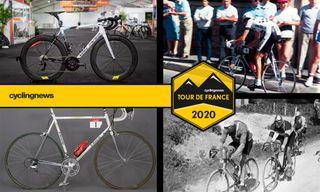 Tour de France winning bikes