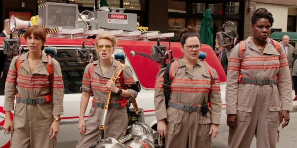 Ghostbusters reboot cast