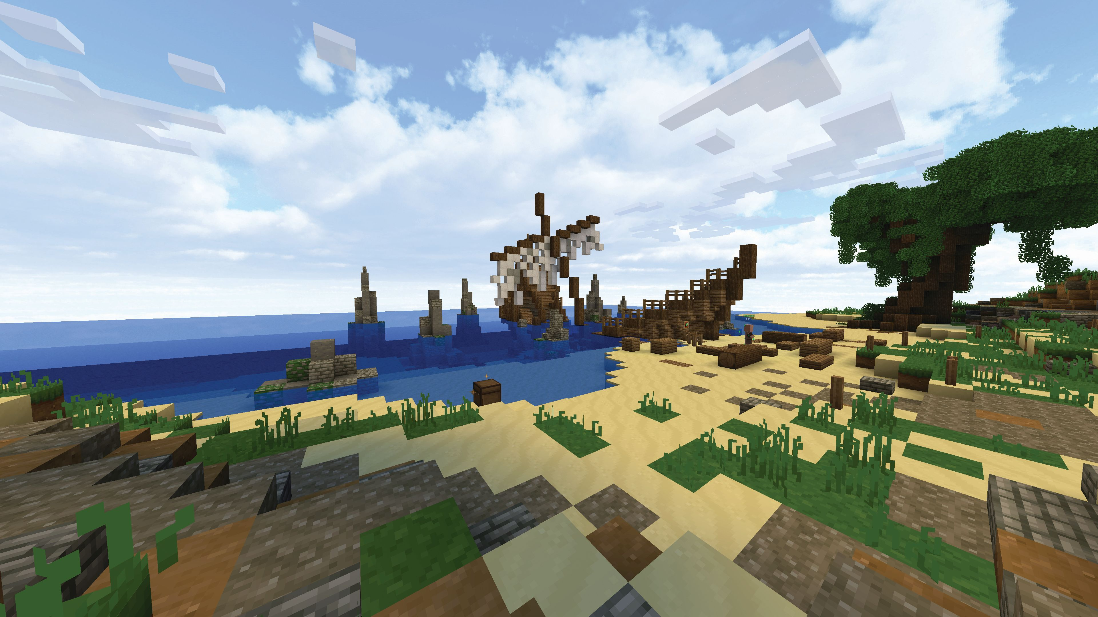 Welcome to Wynncraft, a full-fat Minecraft MMO mod | PC Gamer
