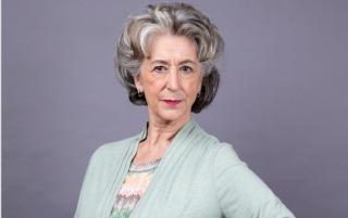 Maureen Lipman in Coronation Street as Evelyn Plummer
