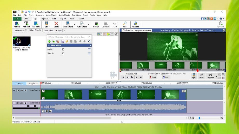 VideoPad Video Editor review | TechRadar