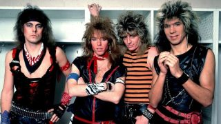 A picture of Dokken in 1985