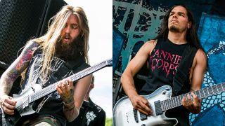 Mark Heylmun and Chris Garza of Suicide Silence