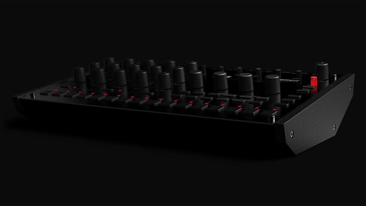 Korg's drumlogue is a hybrid analogue and digital drum machine that can host your own samples