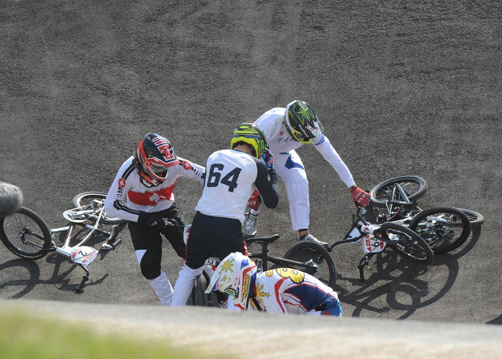 BMX men's quarter finals, London 2012 Olympic Games by ...