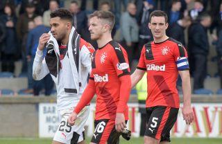 Raith Rovers v Rangers – Ladbrokes Scottish Championship – Stark's Park